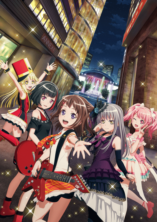 BanG Dream Portada Pelicula